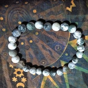 "Jewelry - Tree Agate ""Pathway Opener"" Stretchy Bracelet"